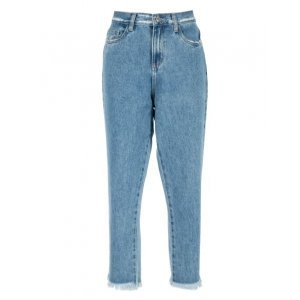 Calça Jeans Boyfriend Puído Cós