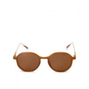 Óculos De Sol Redondo Haste Metal