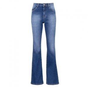 Calça Jeans Flare Clássica