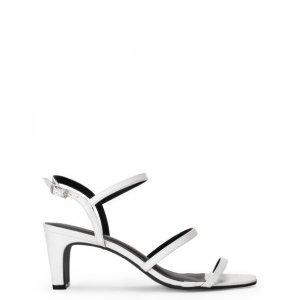 Sandália Salto Retro Tiras
