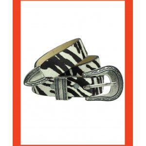 Cinto Zebra Animal Print - M Estampa