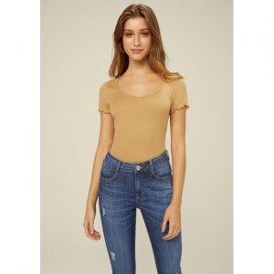 Calça Jeans Skinny Com Efeitos Destroyed