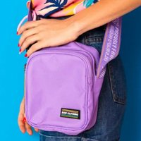 SHOULDER BAG PURPLE