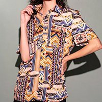 CAMISA LIGHT PATCHWORK