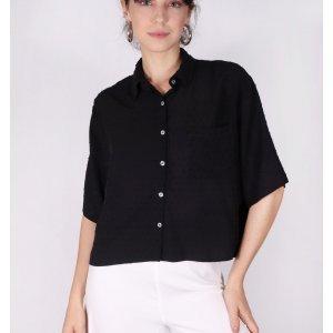 Camisa Pontinhos - M Preto