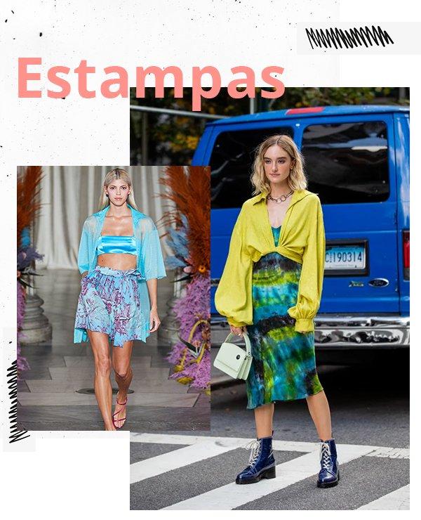 It girls - Cores - Estampas  - Inverno - Street Style