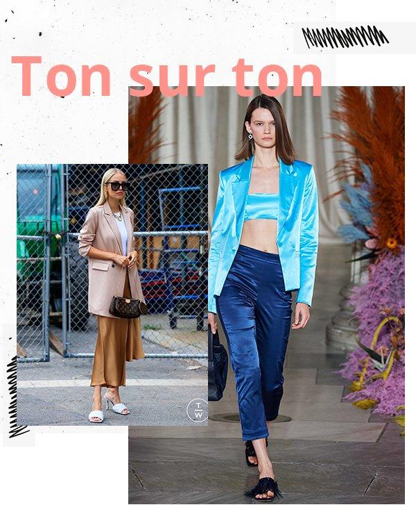 It girls - Cores - Ton sur ton  - Inverno - Street Style