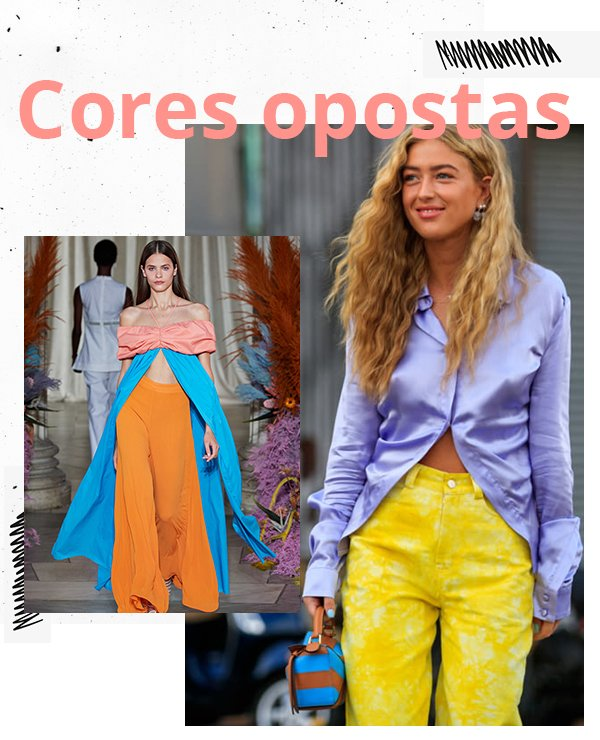 It girls - Cores - Cores opostas - Inverno - Street Style