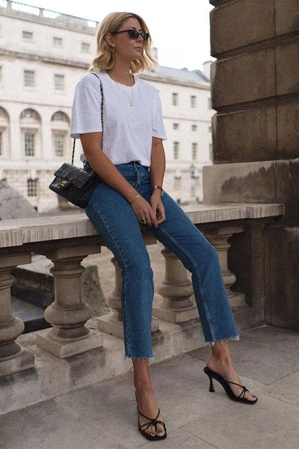 Emma Hill -        - sandália aberta - verão - street style