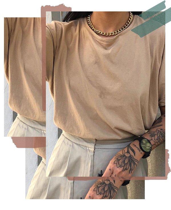 Luciane Sakon - Camiseta - Básicos - Inverno - Street Style