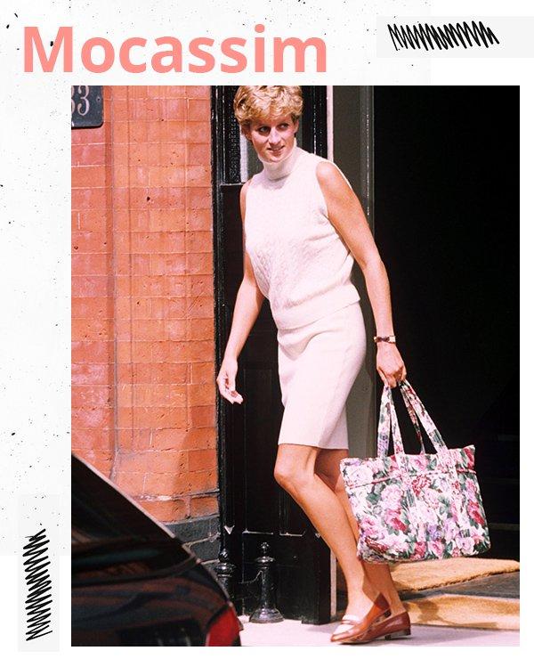 Diana - All white  - Mocassim - Verão - Street Style