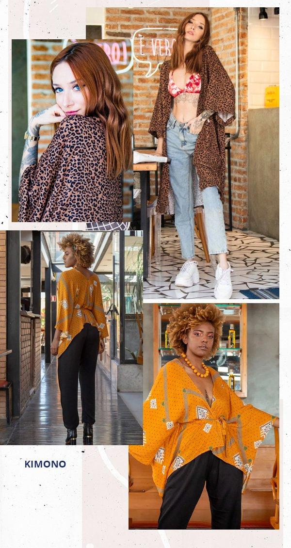 Gabriela Kassis -      - kimono - verão - street style