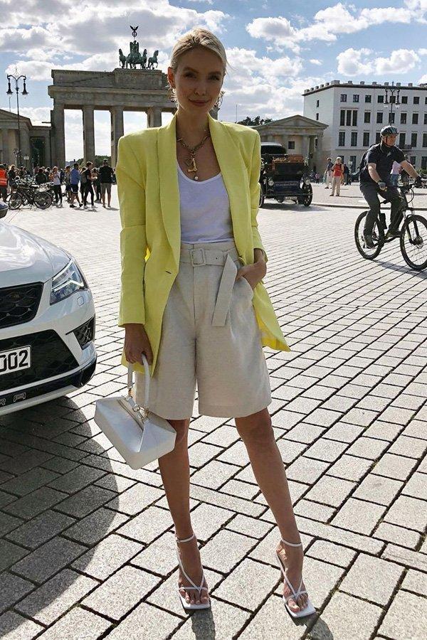 Leonie Hanne - regata - regata branca - verão - street style