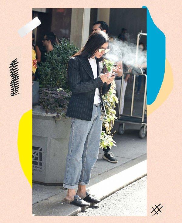 It girl - Alfaiataria - Mule - Inverno - Street Style