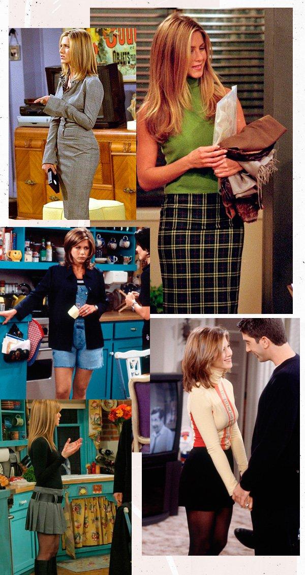 Jennifer Aniston - friends - anos 90 - verão - street-style