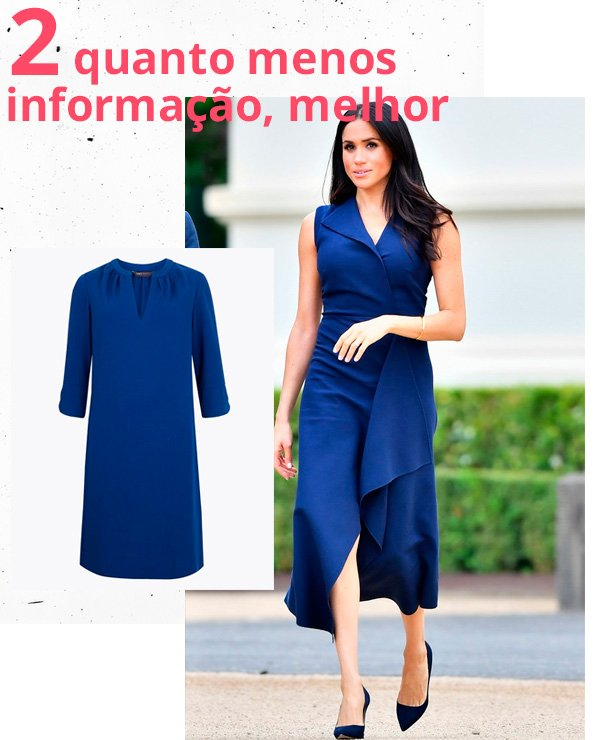 Meghan Markle - vestido-azul - azul - verão - street-style