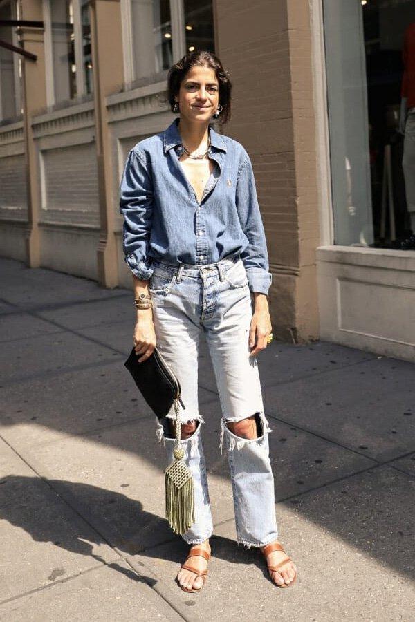 Leandra Medine -       -       - verão - NYFW