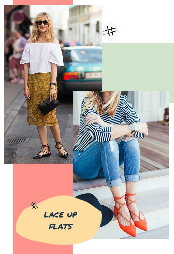 It girls - Sapatos - Lace up flats - Inverno - Street Style