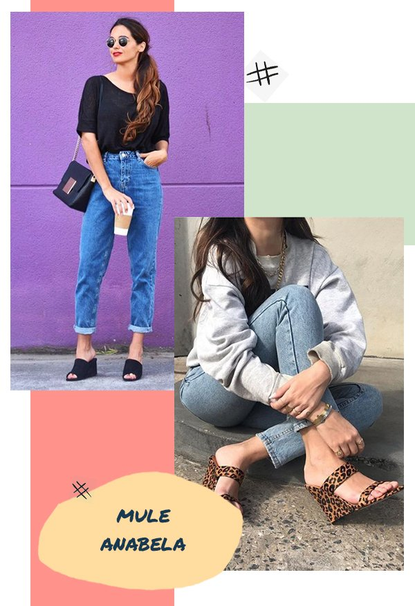 It girls - Sapatos - Mule anabela - Inverno - Street Style