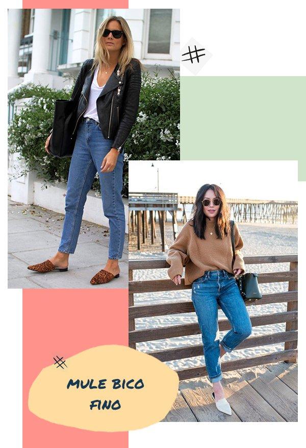 It girls - Sapato - Mule bico fino - Inverno - Street Style