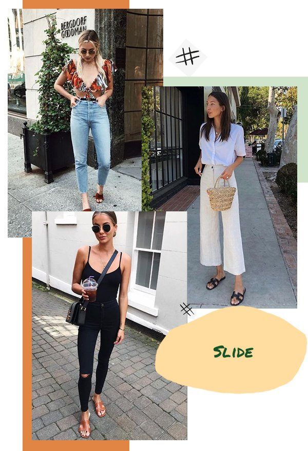 It girls - Slide - Slide - Verão - Street Style