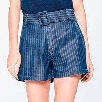 Short Jeans Solto de Cintura Super Alta