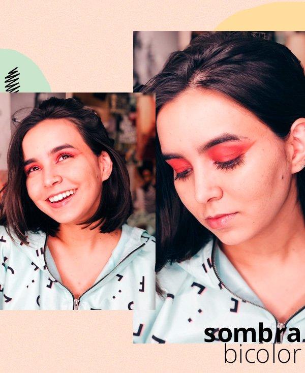 Bruna Lys - make - olho-colorido - verão - street-style