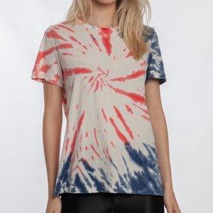 Camiseta Especial Zipn N Tripn Feminino Volcom Multi - M