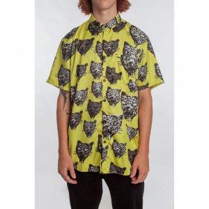 Camisa Ozzie Cat Masculino Volcom Amarelo - M