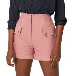 Shorts Pregas Com Botões