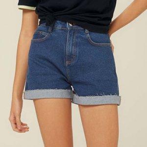 Shorts Jeans Base Pin Up Loose