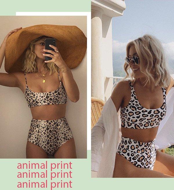 It girls - Beachwear - Cintura alta - Verão - Street Style