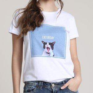 Blusa Feminina Gato