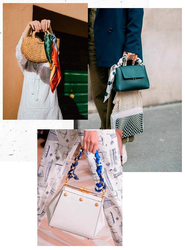 produto - bolsa - lenço - verão - street-style