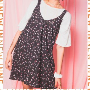 Vestido Mini Flora - P Preto