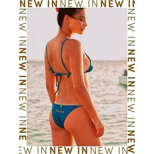Bikini One Happy Island Azul - P Azul