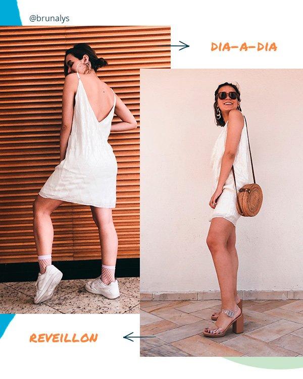 bruna lys - looks - reveillon - dia a dia - moda