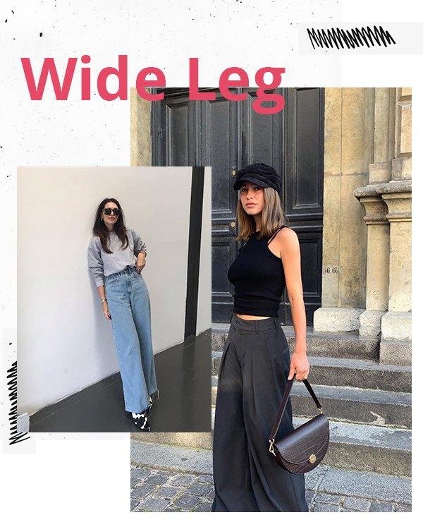 It girls - Calça - Wide Leg - Primavera - Street Style