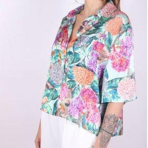 Camisa Hortênsia - G Multicolorido
