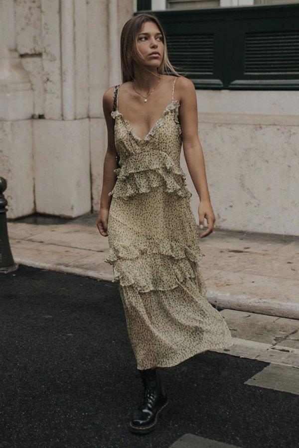 Catarina Pereira -      - babados - verão - street style