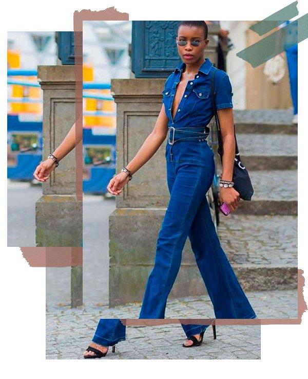 It girl - Macacão - Decote - Verão - Street Style