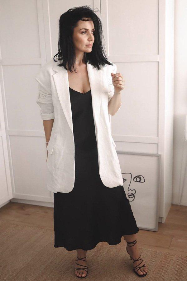 Donna Bartoli -      - blazer - verão - street style