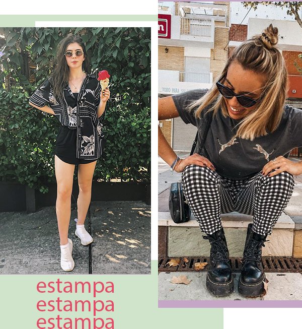 It girls - All black - Estampas  - Primavera - Street Style