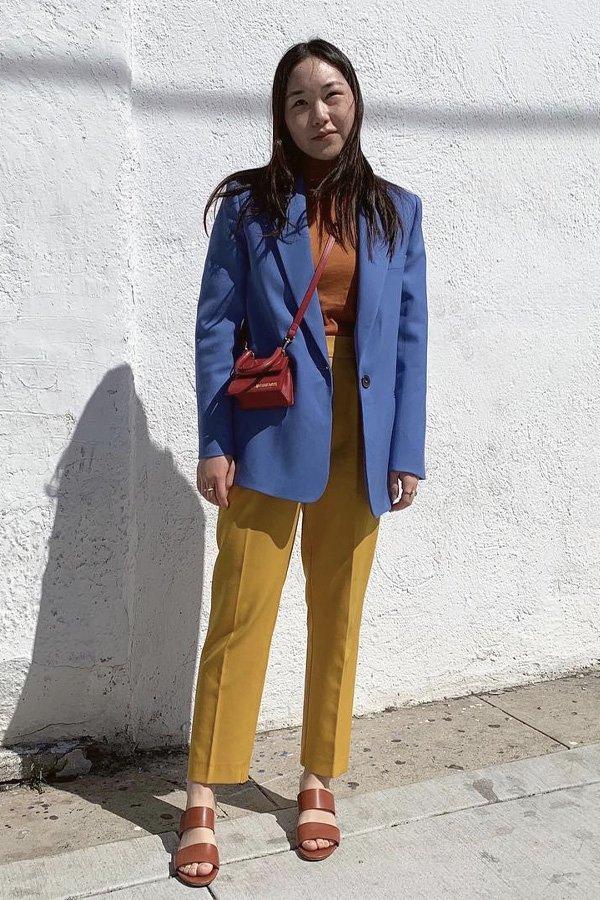 Gabriela Song -      - blazer - verão - street style