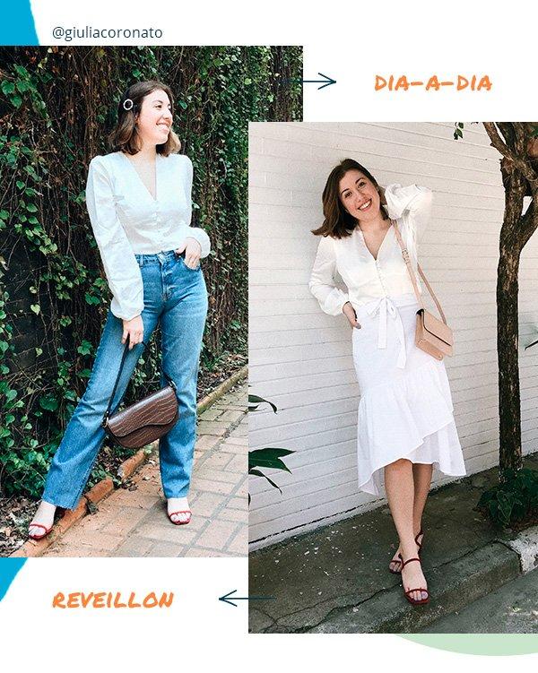 giulia coronato - reveillon - dia a dia - looks - moda