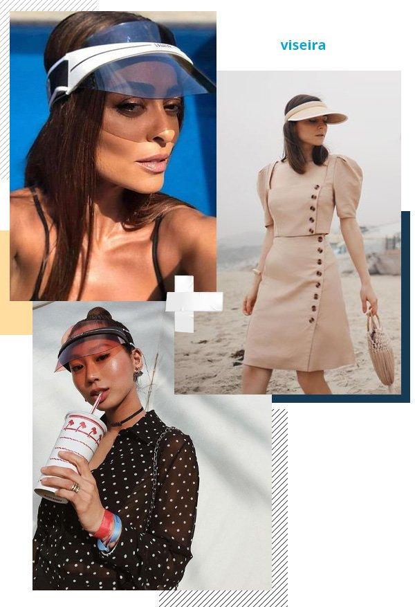 Juliana Paes, Aimee Song - viseira - viseira - verão - street style