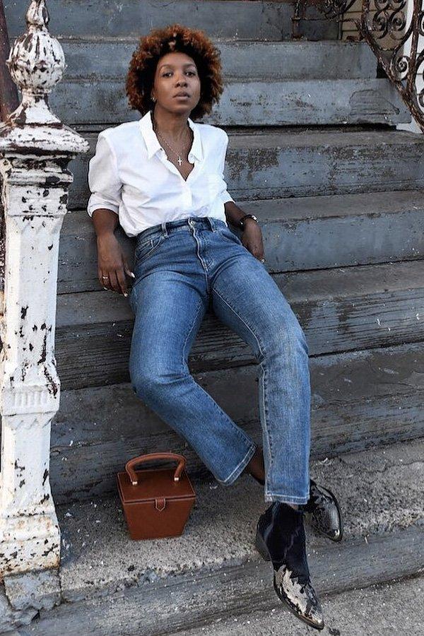 Karen Blanchard -     - Western boots - verão - street style