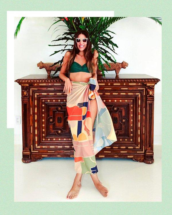 Amanda Cassou - pareo - pareo - verão - street-style