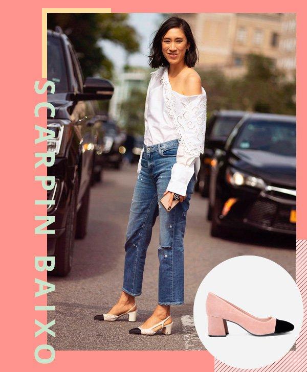 Eva Chen - jeans - scarpin - verão - street-style