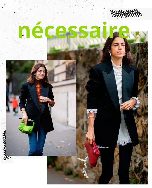Leandra Medine - bolsa-necessaire - bolsa - verão - street-style